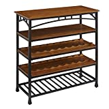 Cheap Home Styles Furniture 5050-66 Modern Craftsman Wine Rack