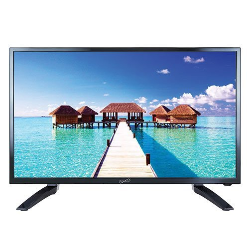 32 Flat Hdtv Screen - SuperSonic SC-3210 1080p LED Widescreen HDTV 32