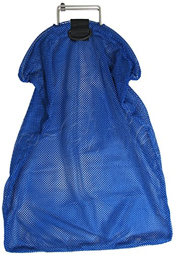 Clam Net - Scuba Choice Spearfishing 5mm Stainless Steel Wire Handle Blue Fish Bag Net Mesh