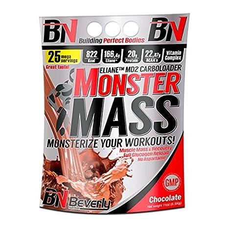 Beverly Nutrition Monster Mass - 5 kg Fresa: Amazon.es: Alimentación y bebidas