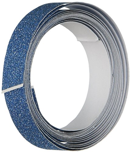 Darice Tape (DARICE 121719 3-Yard Sparkle Tape, 15mm, Blue)