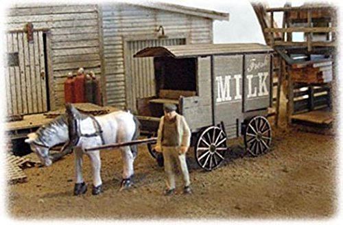 - Bar Mills HO Scale Milk and Ice Wagons 2 PACK 0752