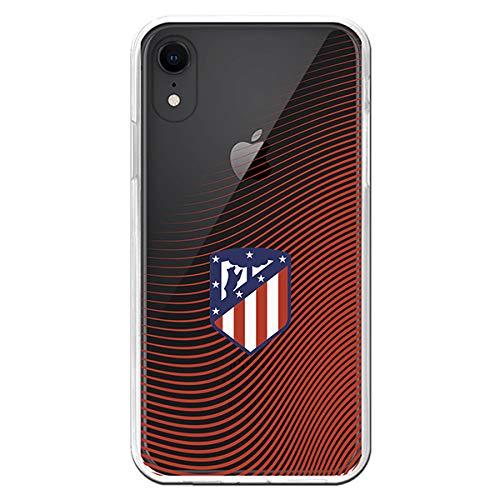Carcasa Oficial Atl/ético de Madrid Ondea Rojo Transparente iPhone XR