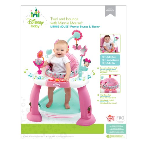 cc701694e Amazon.com   Disney Baby Minnie Mouse Premier Bounce and Bloom