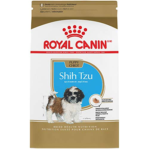 Royal Canin Breed Health Nutrition Shih Tzu Puppy Dry Dog Food, 2.5-Pound