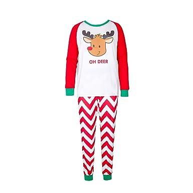 94c92e3282720 MEIHAOWEI Xmas Famille Matching Pyjamas Vêtements Set Maman Papa Enfant De Nuit  Vêtements De Nuit De
