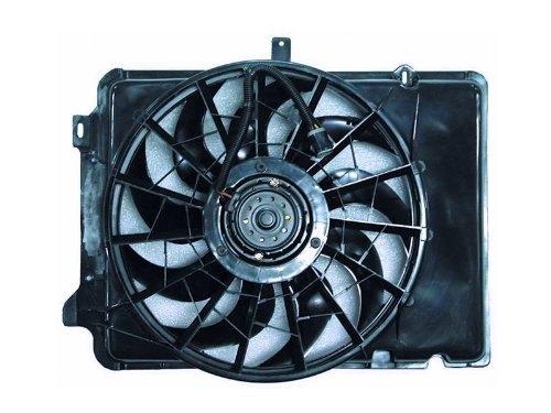 TYC 620640 Ford/Mercury Replacement Radiator/Condenser Cooling Fan (Sable Radiator Fan Shroud Assembly)