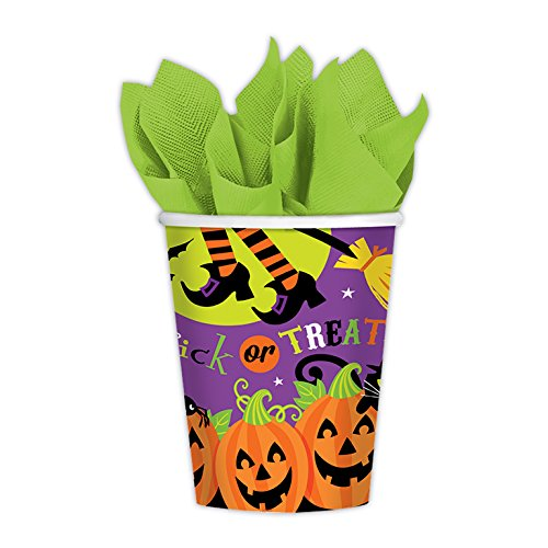 amscan International 999949 Witches Crew Paper Cup, 266 ml -