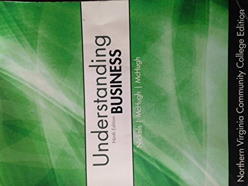 Understanding Business, 9th Edition, Northern Virginia Community College