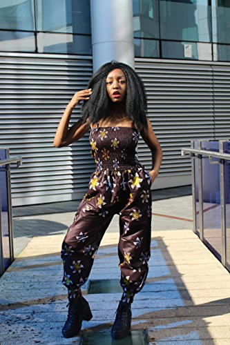 One Playsuit (African Jumpsuit Kente Jumpsuit African Romper African Playsuit Ankara Clothing African Clothing African Romper Continent Clothing Festival Jumpsuit African All in One)