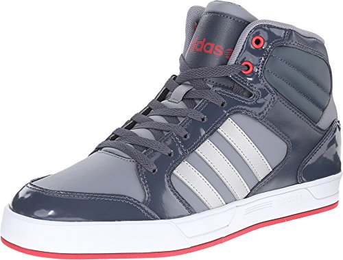 red adidas high tops - 8