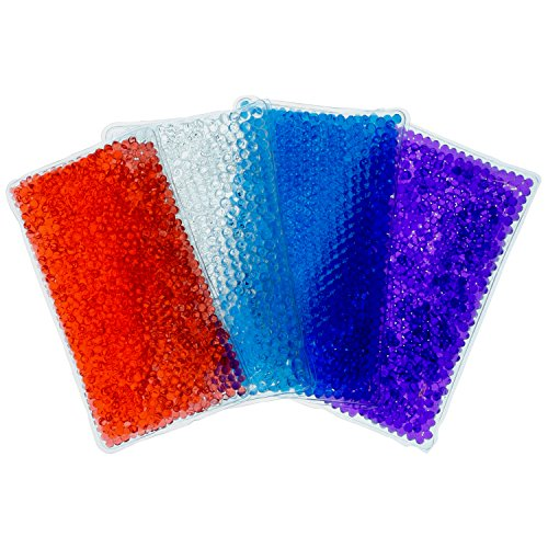 Hot/Cold Gel Bead Pack  | Ice Pack or Heat Pad | Multi Color