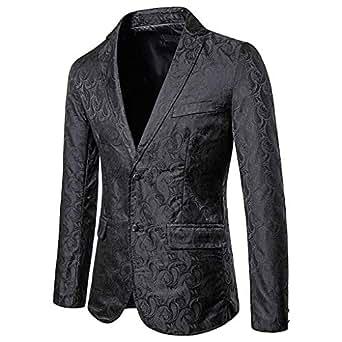 Amazon.com: Encantador traje brillante para hombre para ...