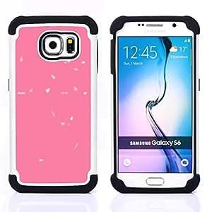 For Samsung Galaxy S6 G9200 - abstract leaves baby clean minimalist Dual Layer caso de Shell HUELGA Impacto pata de cabra con im??genes gr??ficas Steam - Funny Shop -