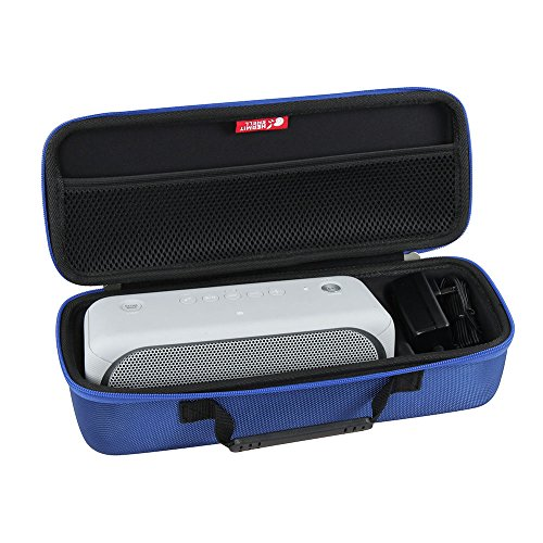 Hermitshell Hard EVA Travel Blue Case Fits Sony XB30 Portable Wireless Speaker Bluetooth (2017 Model) - Fits The Wall Charger