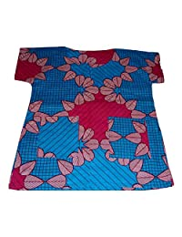 ExploreAfrica44 African Print Top for Kids Girl 4 or 5 Years Old