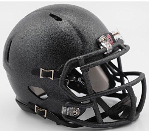 Ohio State Buckeyes 2016 Flat Canon Gray Alternate Riddell Speed Mini Football Helmet