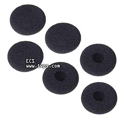 ECS SP-EC Transcriber Headset Ear Cushions Compatible with Spectra USB, PC, ST & FLX-10ECS SP-EC Transcriber Headset Ear Cushions Compatible with Spectra USB, PC, ST & FLX-10