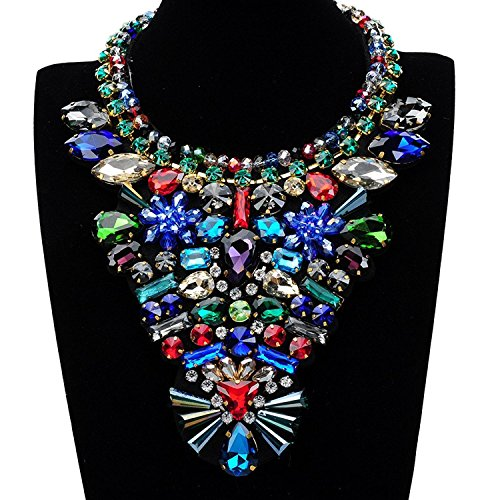 0c095768d Holylove 3 Designs Statement Necklace Costume Jewelry Fashion Large Jewelry  1 PC with Gift Box