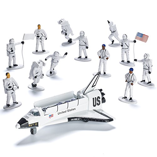 Die-cast Metal Space Shuttle with Astronaut Figures (Set ...