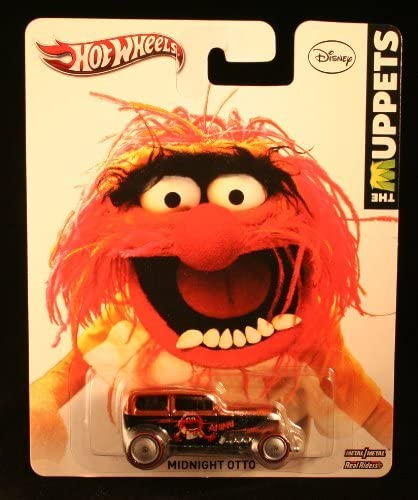 Hotwheels  The Muppets Animal Midnight Otto