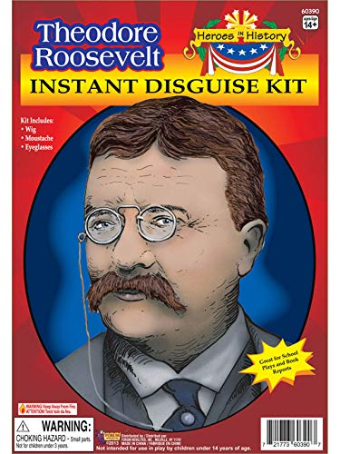 Heroes In History Theodore Roosevelt Costume Kit ()