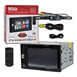 Cheap BOSS Audio BV9366B Car Audio 2DIN 6.2″ Touchscreen DVD CD Player Bluetooth Stereo USB + Remote with DCO Night Vision Back-up Camera