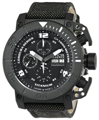Invicta Men's 13685 Corduba Analog Display Swiss Automatic Black Watch