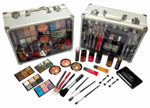 Shany cosmétiques Cameo portons tous trousse de maquillage du coffre avec réutilisable boîtier en aluminium exclusif Holiday Gift Set