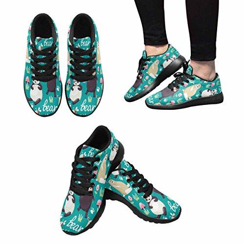 InterestPrint Womens Jogging Running Sneaker Lightweight Go Easy Walking Comfort Sports Running Shoes Multi 15 ivGVyt