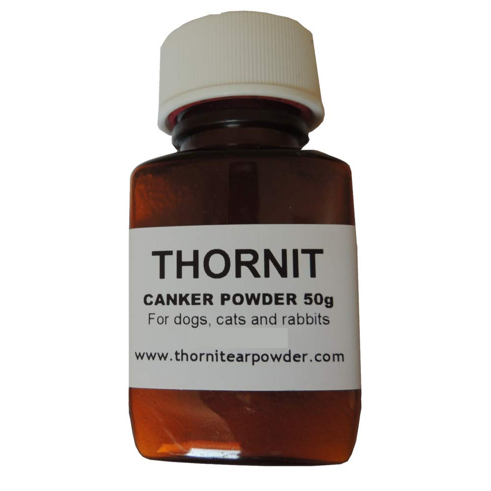 THORNIT CANKER POWDER  ORIGINAL  EAR MITES DOGS CATS RABBITS  100 g LARGE
