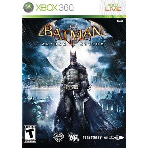 Batman: Arkham Asylum - Xbox 360 (Superhero Games For Xbox 360)