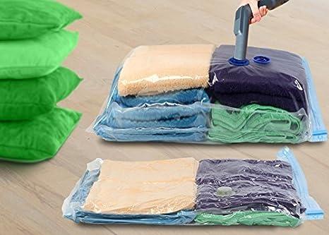 KEPLIN® - Pack de 6 bolsas de almacenamiento al vacío de 70 ...