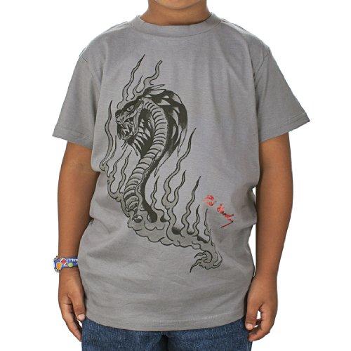 Ed Hardy Toddlers Dragon T-Shirt - Grey - 2/3 (Ed Hardy Dragon T-shirt)