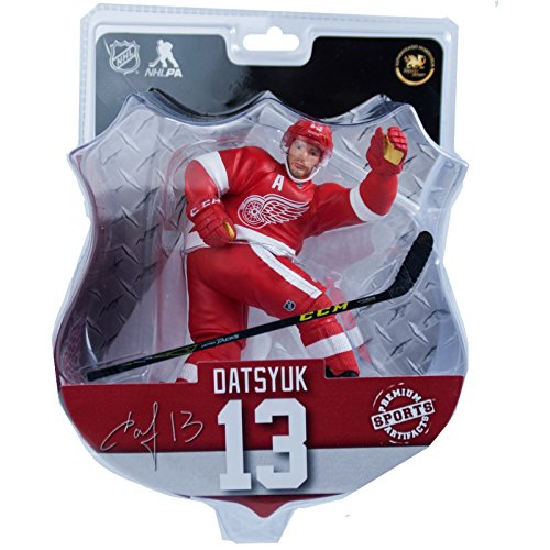 Premium Sports Artifacts Pavel Datsyuk - NHL Detroit Red Wings Collectible Figure, 6''