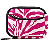 Vangoddy VGMGlovePWZ Mini Glove Soft Series Camera Carrying with Removable Wristlet (Pink/White)