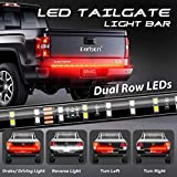 LED Truck Tail Light, 60inch 2-Row LED Truck Tailgate Light Bar Strip