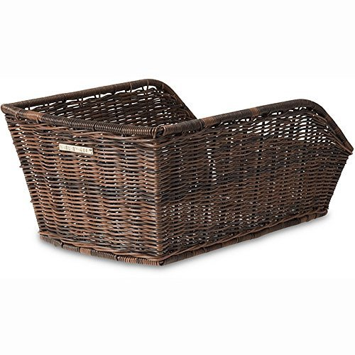 Basil Rear Cycle Basket Cento Rattan Look, Hinterradkorb Cento-Rattan Look, nature Braun by Basil