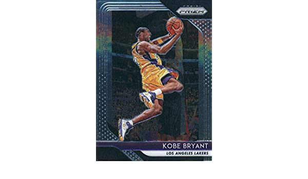 competitive price b4389 a16f8 Amazon.com  2018-19 Panini Prizm  15 Kobe Bryant Los Angeles Lakers  Basketball Card  Collectibles   Fine Art
