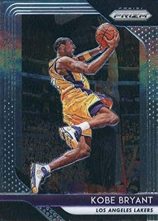 best cheap b3563 7086c Amazon.com  2018-19 Panini Prizm  15 Kobe Bryant Los Angeles Lakers ...