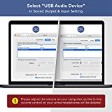 TROND External USB Audio Adapter Sound Card with
