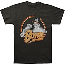 David Bowie Men's Spotlight T-shirt Heather Charcoal