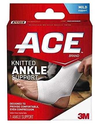 207301 Brace Ankle Support Cotton/ Elastic Medium Part