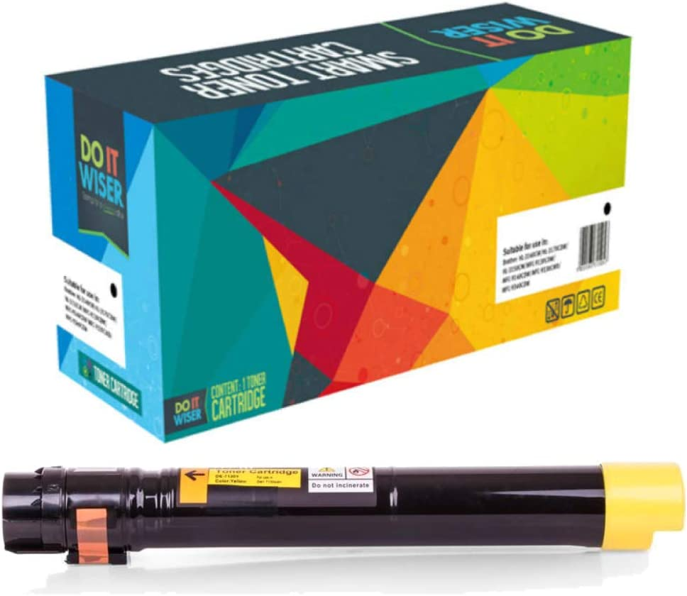 Do it Wiser Compatible Toner Cartridge Replacement for Dell 7130cdn 7130 | 330-6139 (Yellow, High Yield)