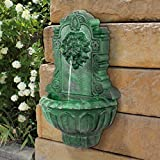 Wall Mounted Water Fountain - Casa Del Lago Lion