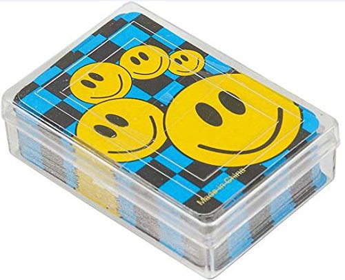 K&A Company Mini Smile Face Playing Cards Case Pack 432