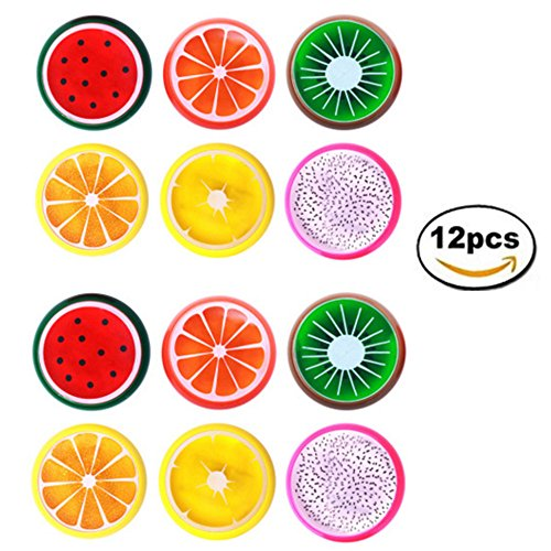 12 Pack Magic Crystal Slime Putty Toy Soft Fruit Slime for Kids, Students,Birthday,Party,Non-Toxic by xuebao
