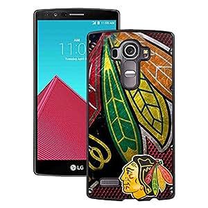 Hot Sale LG G4 Case ,Popular Unique Designed Case With Chicago Blackhawks Black For LG G4 Case High Quality Phone Case