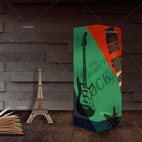 QCKDQ Guitarra de Creative Shadow Light, lámpara de Mesa nórdica Simple con cartón, lámpara de Sombra de atmósfera romántica, lámpara de mesita de Noche con luz LED táctil: Amazon.es: Hogar