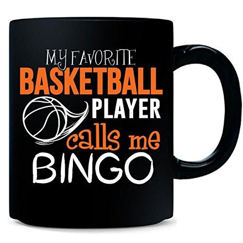 My Favorite Basketball Player Calls Me Bingo - Mug by My Family Tee